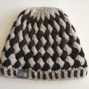 NWWT North Face knit woven Beanie